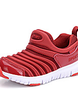 Girls' Shoes Outdoor / Casual / Athletic Tulle Loafers Spring / Summer / Fall Comfort Flat Heel Black / Blue / Pink / Red / Navy
