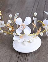 Bride's Flower Shape Wedding Hair Accessories Headbands Headpieces 1 Piece