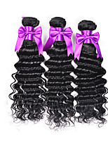 Malaysian Virgin Hair Deep Curly Wave 3 Bundles Pure 100 Human Hair Extension Malaysian Kinky Curly Virgin Hair Weave