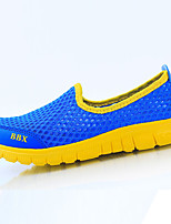 Girls' Shoes Casual Comfort Tulle Fashion Sneakers Blue / Yellow / Red / White