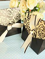 Boîtes à cadeaux / Boîtes Cadeaux(Noir,Papier durci)Thème asiatique / Thème classique- pourMariage / Commémoration / Fête prénuptiale /
