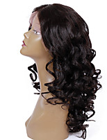 8A Remy human hair 8-24inches Natural Loose Wave full or lace front  Celebrity Style Wigs for Women