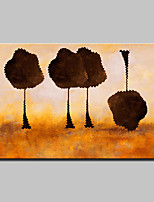 Hand Painted Canvas Oil Paintings Modern Abstract Tree Pictures Wall Art With Stretched Frame Ready To Hang 90x140cm