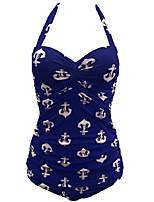 Lolita Clásica y Tradicional Sin Mangas N/A Azul Terylene Lolita vestido