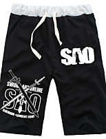 Inspired by Sword Art Online Kirito Daily Cosplay Boys' Pure Cotton Shorts
