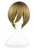 Gin Tama-Okita Sougo Blond 14inch Anime Cosplay Wig CS-002E
