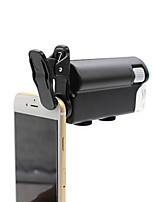 Volk Universal Mobile Phone Clip Having Microscope Magnifying 60-100 Times with LED Lights