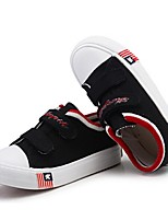 Girls' Shoes Casual Canvas Fashion Sneakers Spring / Summer / Fall Comfort Black / Blue / Red / White