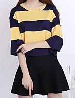 Damen Pullover - Street Schick Nylon Mittel ¾-Arm