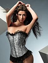 Serre Taille / Corset / Grande Taille Crochet Nylon / Polyester Femme