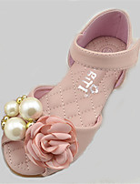 Girls' Shoes Outdoor Comfort / Round Toe PU Flats Pink / Ivory