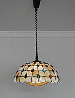 Max 60W Lámparas Colgantes ,  Tiffany Otros Característica for Mini Estilo MetalSala de estar / Dormitorio / Comedor / Cocina /