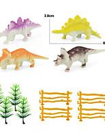 Jurassic Dinosaur Solid Simulation Wild Animal Model Set Decoration Static Resin Toys For Children