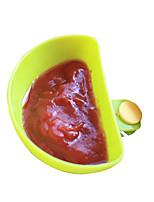 4Pcs Can Clip Dishes Spoon Plates Condiment Spoon Random color
