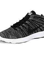 Scarpe Sneakers Da uomo Tessuto Nero / Viola / Grigio