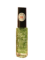 Bgirl Painting Green 10ML Manicure Drawing Pen Nail Polish for 3 Years