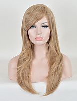 Fashion Wigs Blonde Color Top Quality Straight Synthetic Wigs