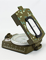 Compasses Convenient / Pocket Hiking / Camping / Travel / Outdoor Alloy Metal Camouflage