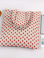 Women-Casual-Canvas-Shoulder Bag-Pink