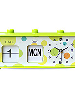 Creative Cute Shape Mute Alarm Clock(Random Color)
