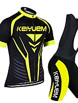 KEIYUEM®Others Unisex Short Sleeve Spring / Summer / Autumn Cycling Clothing bib suits/ Breathable Quick Dry#5