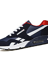 Men's Shoes Athletic PU Fashion Sneakers Black / Blue / Red