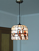9 inch Retro Tiffany Pendant Lights Shell Shade Living Room Dining Room light Fixture
