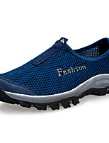 Men's Shoes Casual Tulle Fashion Sneakers Black / Blue / Red / White / Gray / Royal Blue