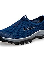 Sapatos Masculinos-Tênis Social-Preto / Azul / Vermelho / Branco / Cinza / Azul Real-Tule-Casual