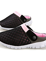 Men's Shoes PU Casual Slippers Casual Flat Heel Blue / Green / Pink / Red