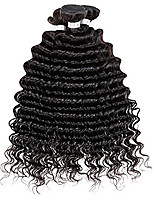 3Pcs Lot Brazilian Curly Virgin Hair  7A Unprocessed Deep Wave Virgin Hair  Brazilian Hair Weave Human Hair Bundles