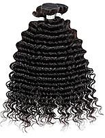 3pcs lot cheveux vierges 7a non transformés vague profonde cheveux vierges bouclés cheveux brazilian brazilian tissage faisceaux de