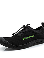 Men's Indoor Court Shoes Synthetic Black / Green / Gray