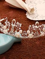 Women's Pearl / Crystal / Alloy Headpiece-Wedding / Special Occasion Tiaras 1 Piece