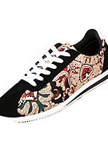 Men's Shoes Casual Fleece Fashion Sneakers Black / Blue / Red