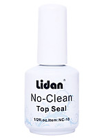 LIDAN Persistent Super Bright Removable Disposable Seal  15ML Nail Polish for 2 Years