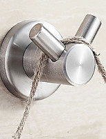 The bathroom brushed stainless steel solid coat hook (Dan Gou)
