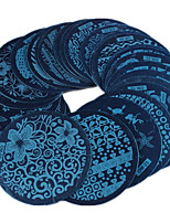 Nail Art Image Stamper Series OM 30pcs Mix Designs DIY Nail Polish