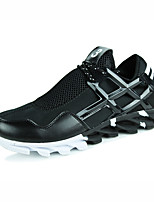 Men's Shoes Casual Leatherette Fashion Sneakers Black / White