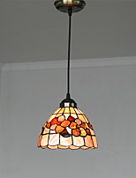 8 inch Retro Tiffany Pendant Lights Shell Shade Living Room Dining Room light Fixture