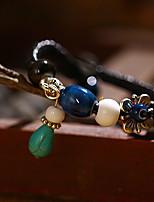 Leer / Touw Unisex Chain Armbanden Geen Steen