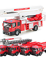 Dibang -1552 children's educational 1:50 alloy car model toy cars sliding truck (4PCS)