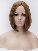 Best-selling Europe And The United States Bobo Head Wig  Golden Brown