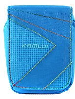L Size Camera Case for Casio zr1000/zr1200/rx100  8.5*5*10.5 Blue