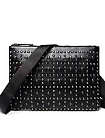 Unisex-Formal / Casual / Outdoor / Office & Career / Shopping-PU-Clutch-Black