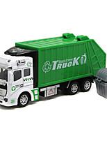 Dibang - Children's toy car back of the garbage truck 1:48 alloy car model toy sprinkler delivery vehicle (6PCS)