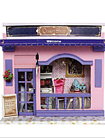Chi Fun House Diy Hut European Stores With Light Creative Valentines Day Gift Hand House