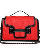 Women-Professioanl Use-PU-Shoulder Bag-White / Red / Black