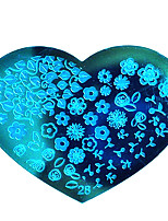 BlueZOO Love Blue Nail Art Stamping (28)