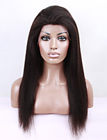 EVAWIGS 100% Brazilian virgin hair lace front wig kinky straight lace wig for fashion black women